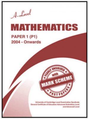 A Level Mathematics Paper 1 P1 Unsolved Nov 2017