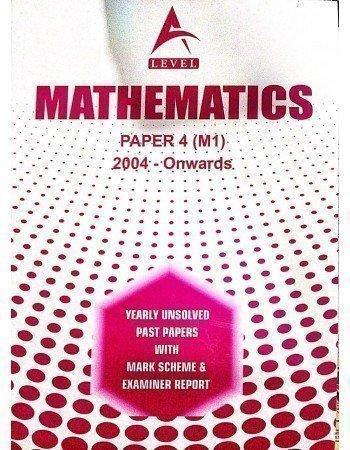 A Level Mathematics Paper 4 (M1) Unsolved June 2020