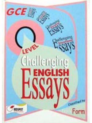 GCE O Level Challenging English Essays
