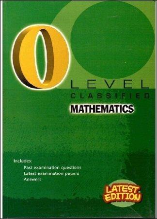 O Level Classified Mathematics Redspot 2018 2019