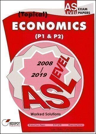 Redspot AS Level Economics P1 P2 Topical 2020 Edition