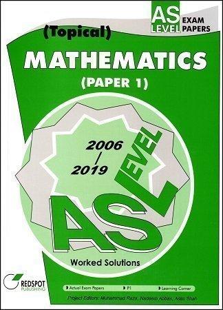 Redspot AS Level Mathematics P1 Topical 2020 Edition
