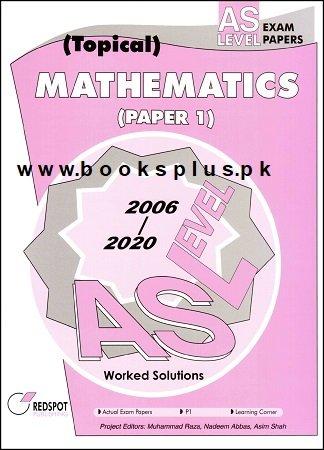 Redspot AS Level Mathematics P1 Topical