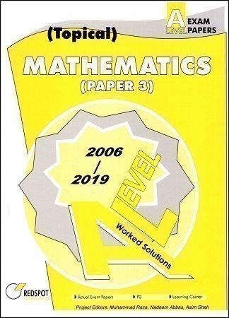 Redspot AS Level Mathematics P3 Topical 2020 Edition