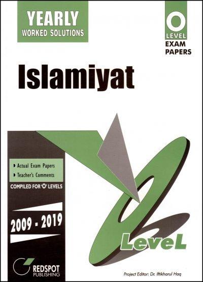 Redspot O Level Islamiyat Yearly 2020 Edition