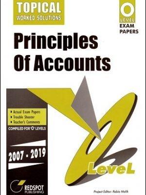Redspot O Level Principles of Accounts Topical 2020 Edition