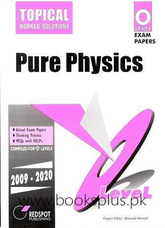 Redspot O Level Pure Physics Topical 2021 Edition