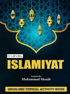 o Level islamiyat unsolved topical activity book by M Shoaib Stallion