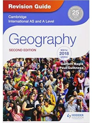 Cambridge International AS & A Level Geography Revision Guide 2nd Edition nagle guiness