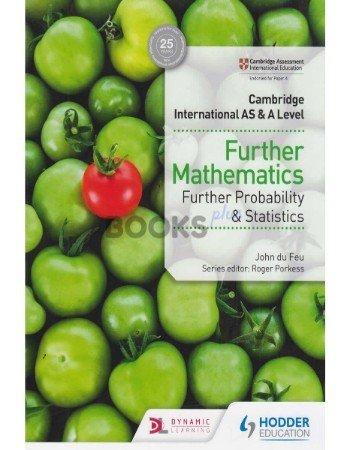 Cambridge International AS & A Level Further Mathematics Further Probability & Statistics feu