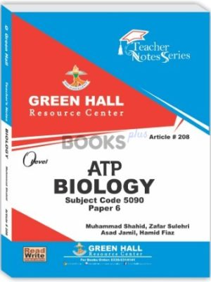 Biology O Level P 6 ATP Notes green hall