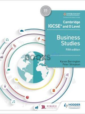 Cambridge IGCSE & O Level Business Studies 5th Edition