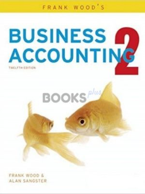 Frank Wood's Business Accounting 2 12th Edition Pearson