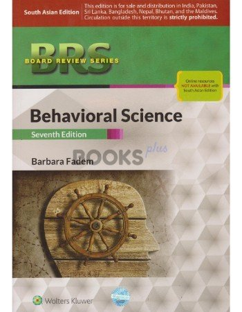 BRS Behavioral Science 7th Edition by Barbara Fadem
