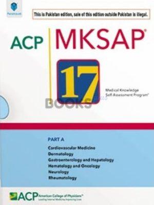 ACP MKSAP 17 Part A Pakisan Edition paramount