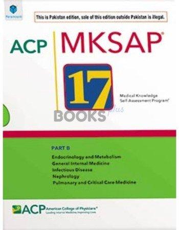ACP MKSAP 17 Part B Pakisan Edition paramount