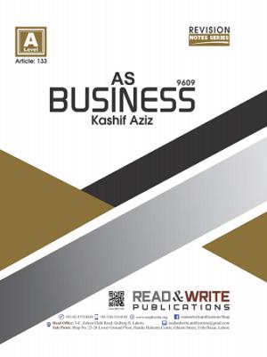 133 As level Business by Kashif Aziz