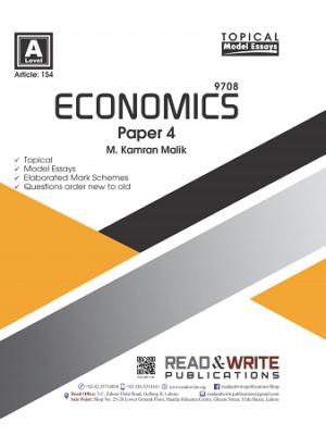 154 Economics A Level P4 Sample Answers