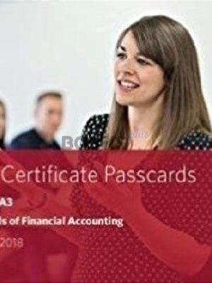 bpp cima ba3 fundamentals of financial accounting passcards 2018