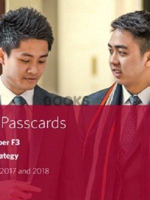 bpp cima f3 financial strategy passcards 2018