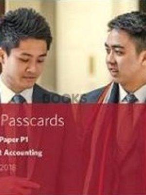 bpp cima p1 Management Accounting Passcards 2018