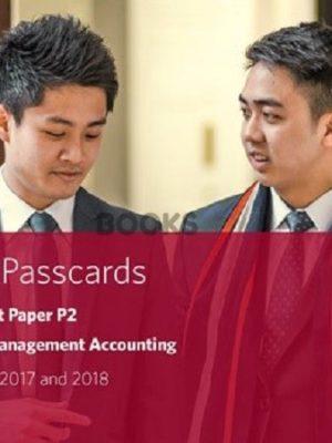 bpp cima p2 advanced management accounting passcards 2018