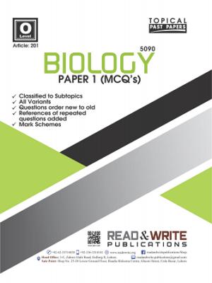 201 Biology Classified O Level Paper 1 MCQ