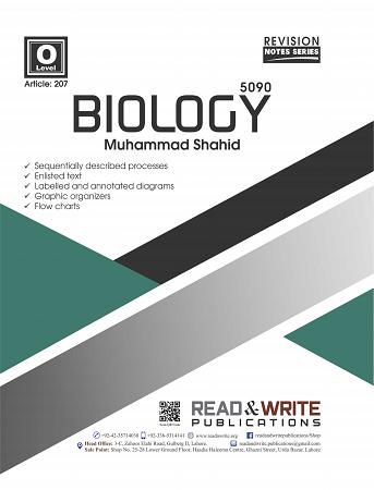 207 Biology O Level Notes Muhammad Shahid