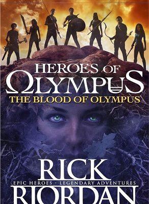 Heroes of Olympus The Blood of Olympus Rick Riordan