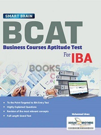 BCAT for IBA Entry Test Guide by Muhammad Idrees Dogar Brothers