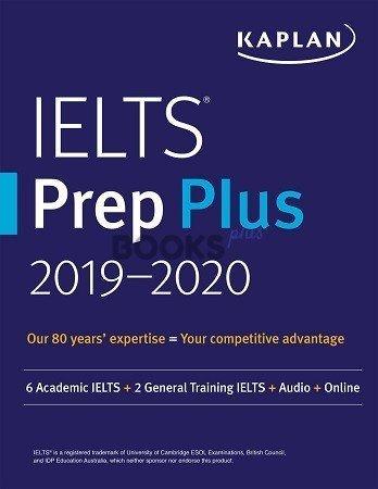 Kaplan IELTS Prep Plus 2019 2020