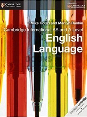 Cambridge International AS & A Level English Language Coursebook gould rankin