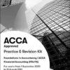 BPP ACCA F3 Financial Accounting kit 2021
