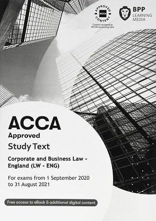 BPP ACCA F4 Law Study Text England