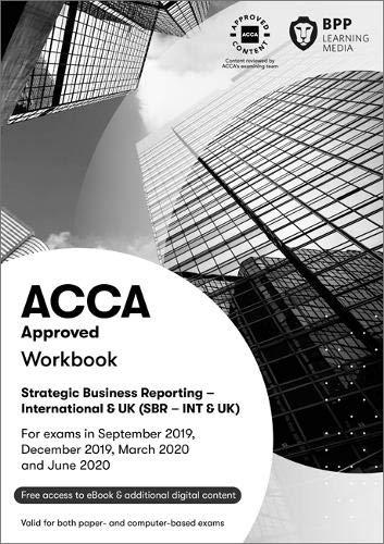 BPP ACCA SBR Study Text Workbook 2019 2020