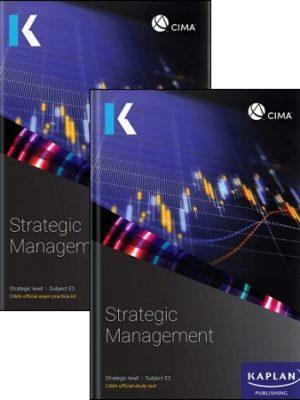 CIMA E3 Exam Kit Study text 2019