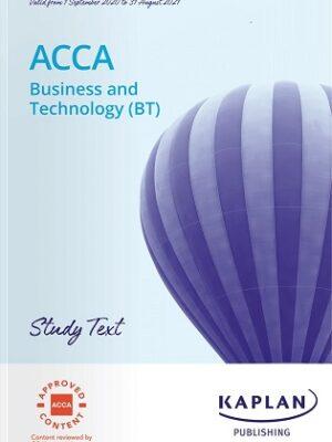 Kaplan ACCA F1 BT Study Text 2021
