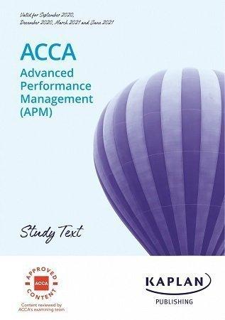Kaplan ACCA APM P5 Study Text 2021