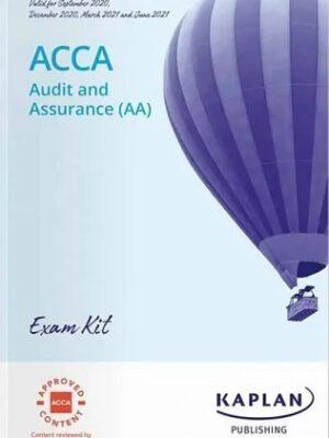 Kaplan ACCA F8 AA Exam Kit 2021