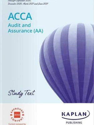 Kaplan ACCA F8 AA Study Text 2021