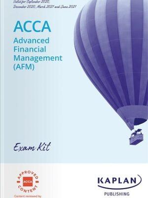 Kaplan ACCA P4 AFM Advanced Financial Management Exam Kit 2021