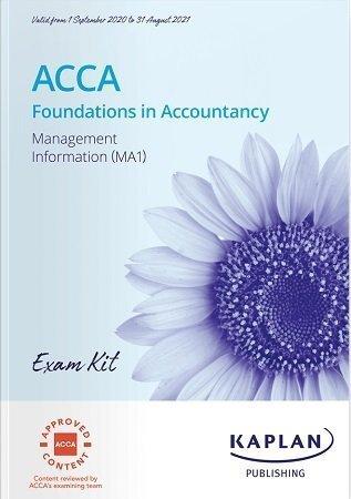 Kaplan FIA Management Information MA1 Exam Kit 2021