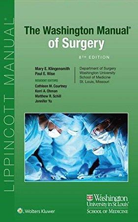 Washington Manual of Surgery 8th Edtion