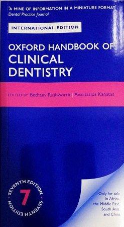 oxford handbook clinical dentistry 7th edition