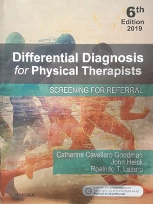 Differential Diagnosis for Physical Therapists Lazaro