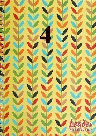 4 Subject Spiral Notebook