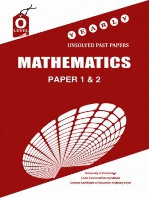 O Level Mathematics Paper 1 and 2 Unsolved 2006 Nov 2018