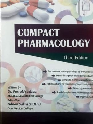 Compact Pharmacology 3rd Edition by Farrukh Jabbar