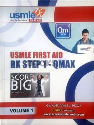 USMLE Rx Step 1 Qmax Qbank 5 Volume Set