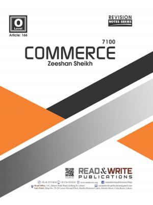 166 Commerce O Level Notes zeeshan sheikh